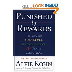 For more in-depth insight into rewards, I strongly recommend Punished by Rewards by Alfie Kohn